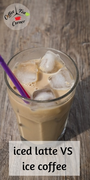 iced latte and coffee