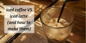 Difference Between Iced Coffee And Iced Latte, And How To Make Them