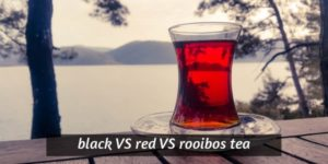 Black Tea VS Red Tea VS Rooibos – Clearing Up The Confusion