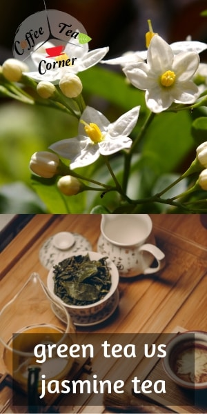 green vs jasmine tea
