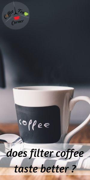 filter coffee taste