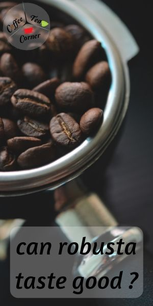 robusta coffee taste