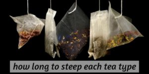 How Long Should Tea Steep ? (Green, Black, All Tea Types)