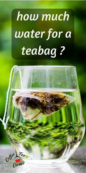 tea water requirement