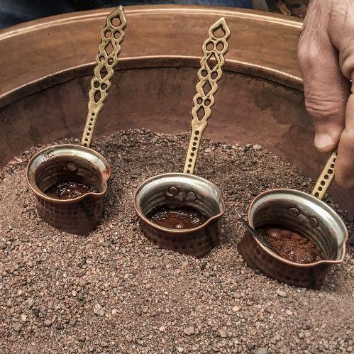sand coffee