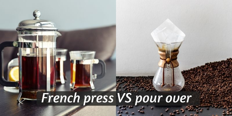 french press pour over